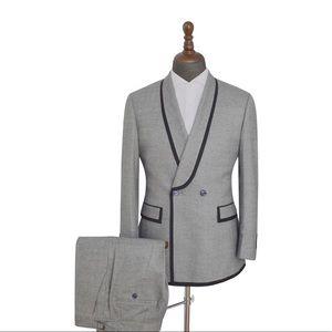 Men's 2 Piece Gray Suit